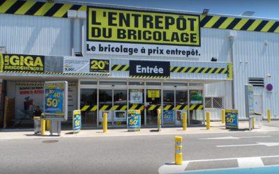 L'Entrepôt du Bricolage à Montélimar