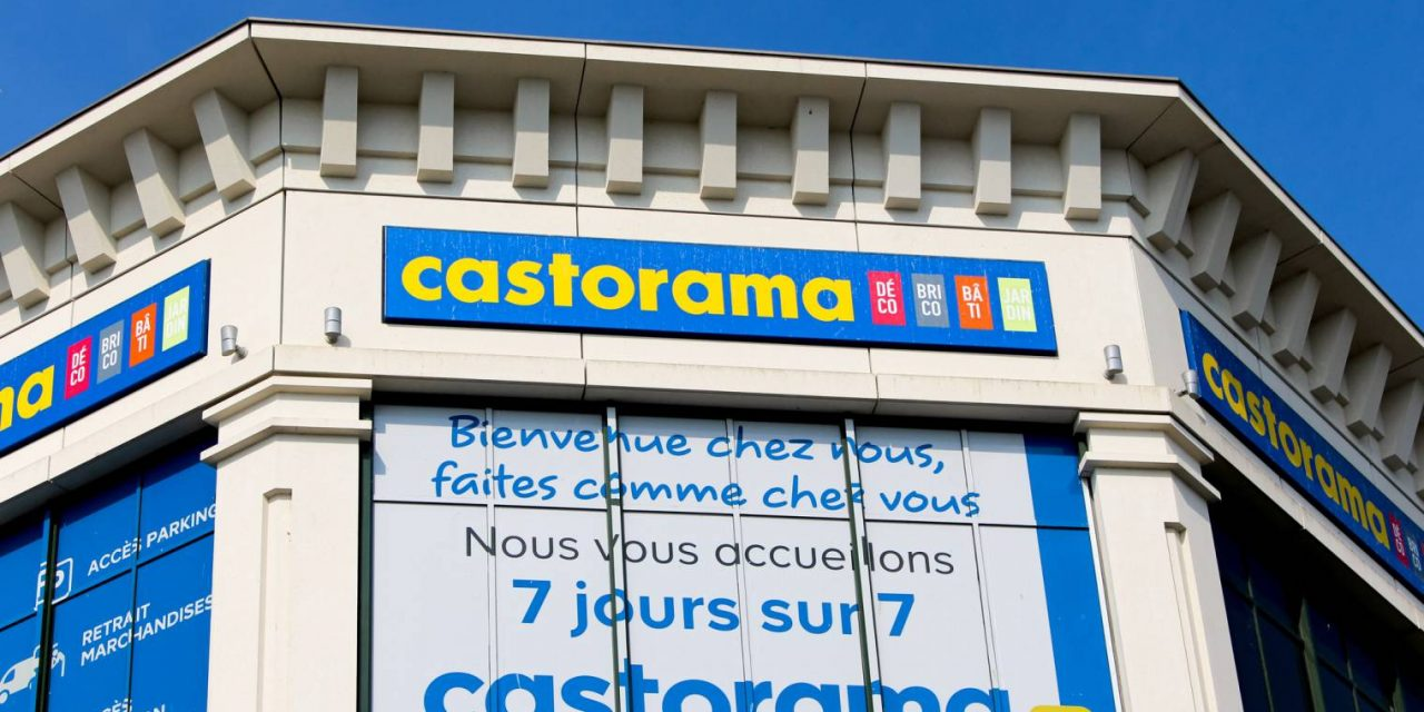 Le magasin Castorama de Valence