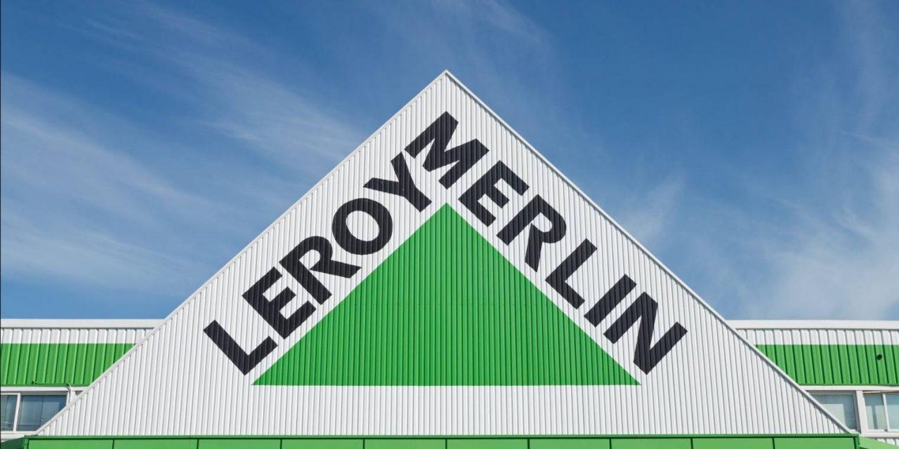 Le magasin Leroy Merlin à Valence