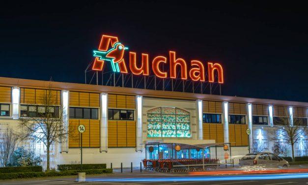 Magasin Auchan à Valence