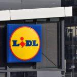 Le magasin Lidl à Valence